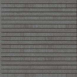 Decori anthrazite gestreifte Mosaik Fliese in Beton-/Steinoptik
