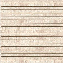 Decori beige gestreifte Mosaik Fliese in Beton-/Steinoptik