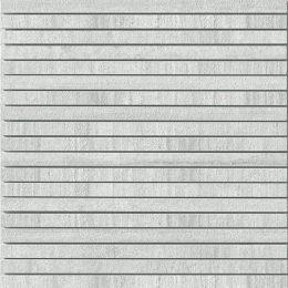 Decori bianco gestreifte Mosaik Fliese in Beton-/Steinoptik