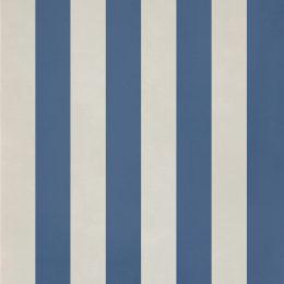 Decori hellweiß-blau gestreifte Fliese fürs Bad